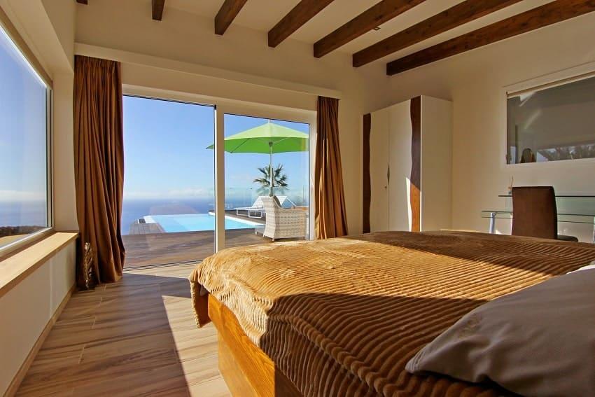 Bedroom, Villa Perla del Mar, Villa Puntagorda, La Palma