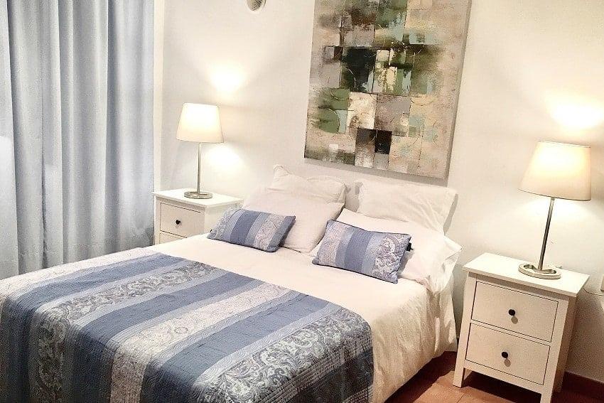 Schlafzimmer, Villa Tajuya, Ferienhaus La Palma