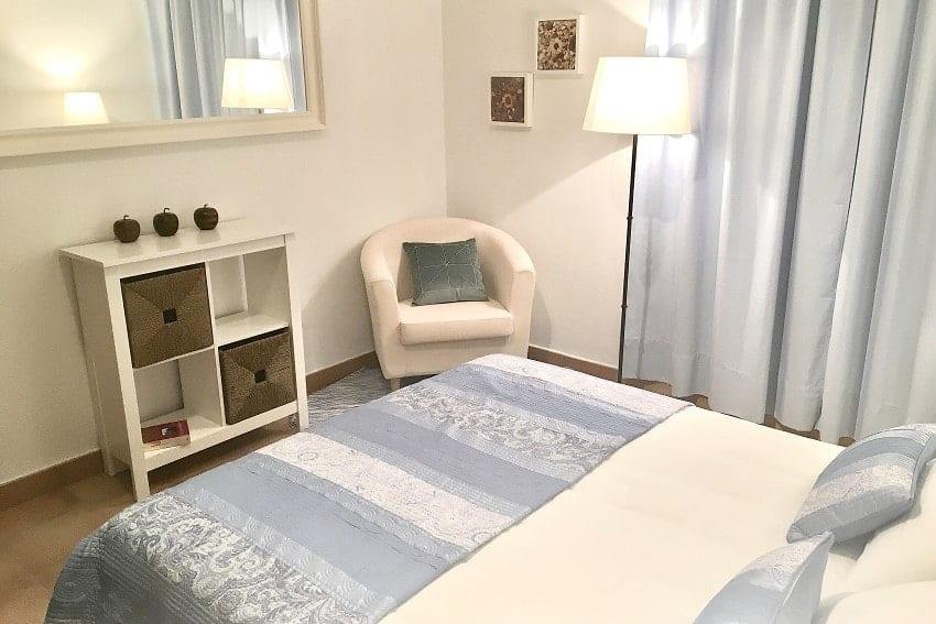Dormitorio, Villa Tajuya, La Palma