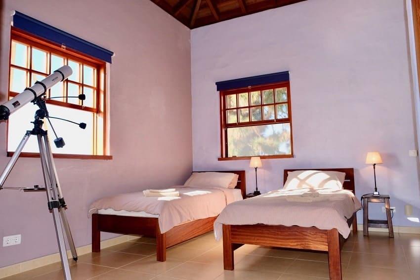 Bedroom, Villa Tigotan, La Palma