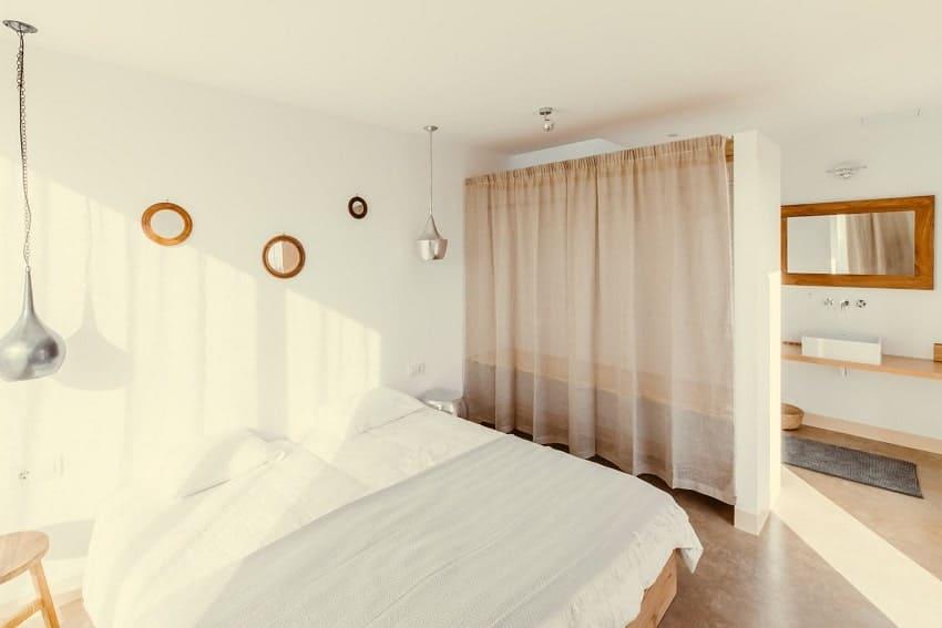 Dormitorio, Villa Triangolo, Villa de Vacaciones Fuerteventura