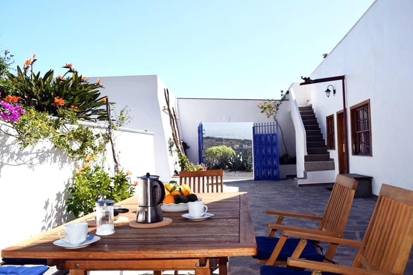 Sitting Corner, Casa Vista Caldera, La Palma