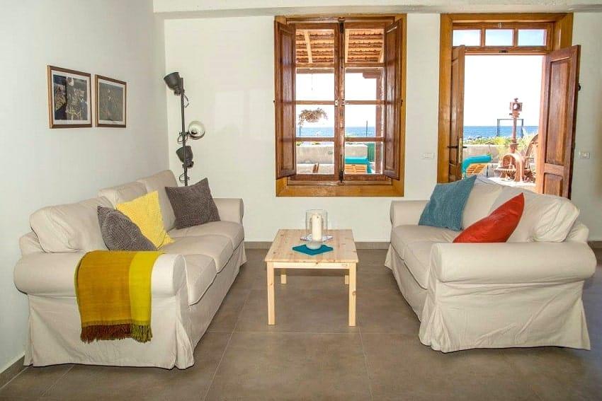 Sofa, Casa Albersequi, Holiday Home La Gomera
