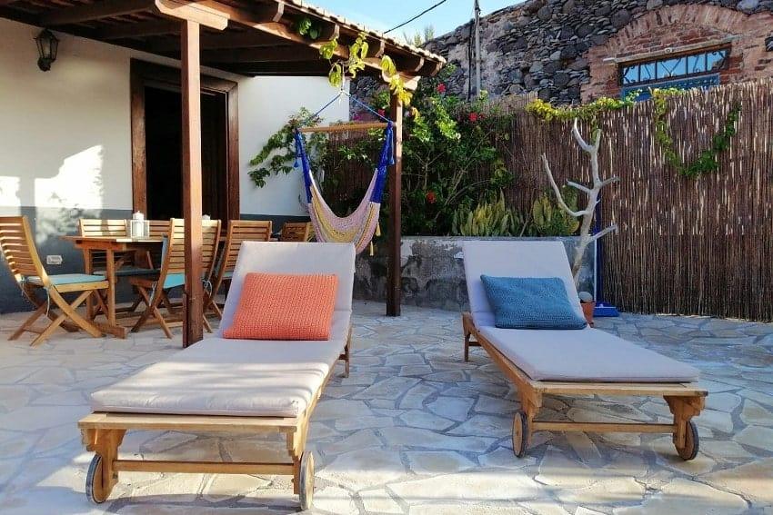 Sunbeds, Casa Albersequi, Holiday Home La Gomera