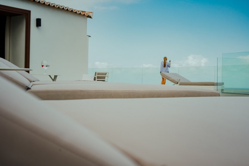 Sunbeds, V&C Luxury Village, Holiday Cottage Los Cancajos