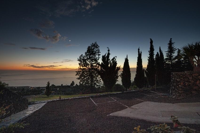 Sunset, Casa San Borondon, Luxury Holiday Home La Palma