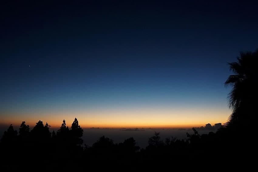 Sunset, Casita Nidi, Holiday Home on La Palma
