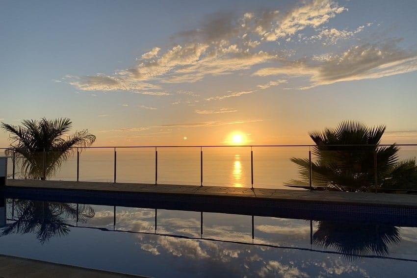 Sunset, Villa Tigotan, Villa La Palma