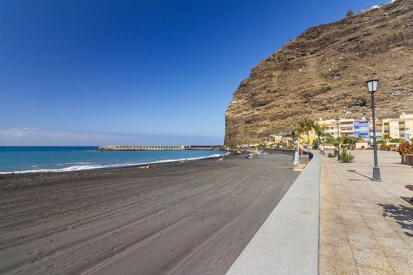Strand von Tazacorte, La Palma