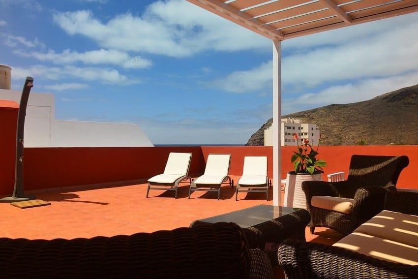 Terrace, Apartment Miramar 1, Apartment La Gomera