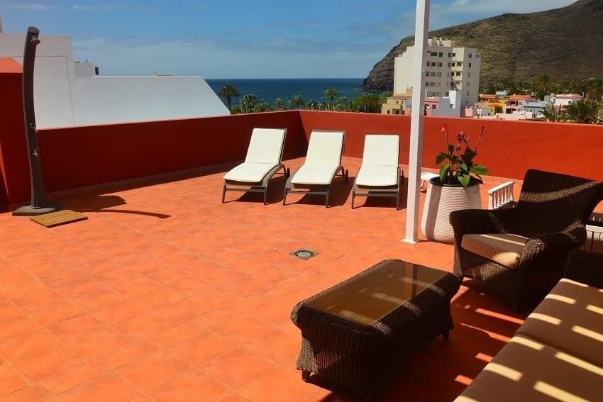Terrace, Apartment Miramar 1, La Gomera
