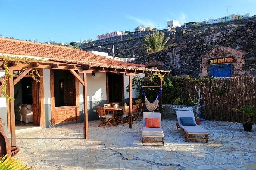 Terrace, Casa Albersequi, Holiday Home La Gomera