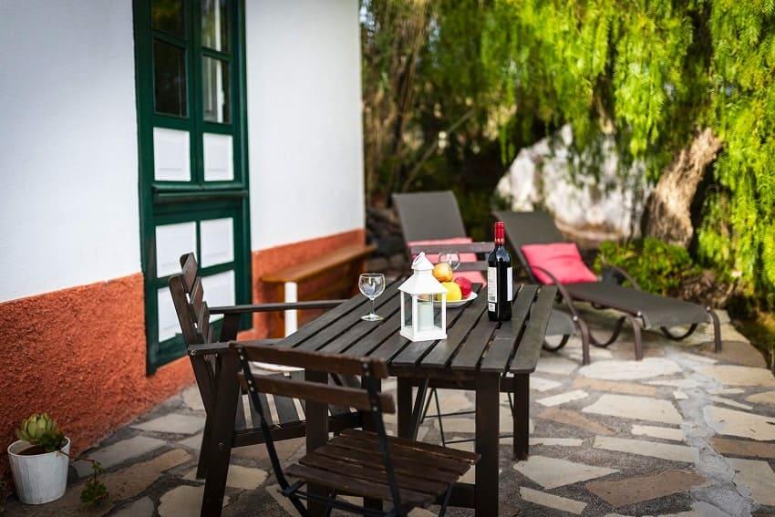 Terrace, Casa Eliseo, Holiday Home La Gomera