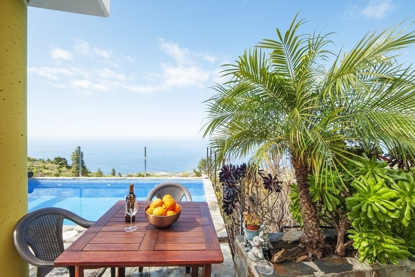 Terrace, Casa Emilia, Cozy Holiday Home La Palma