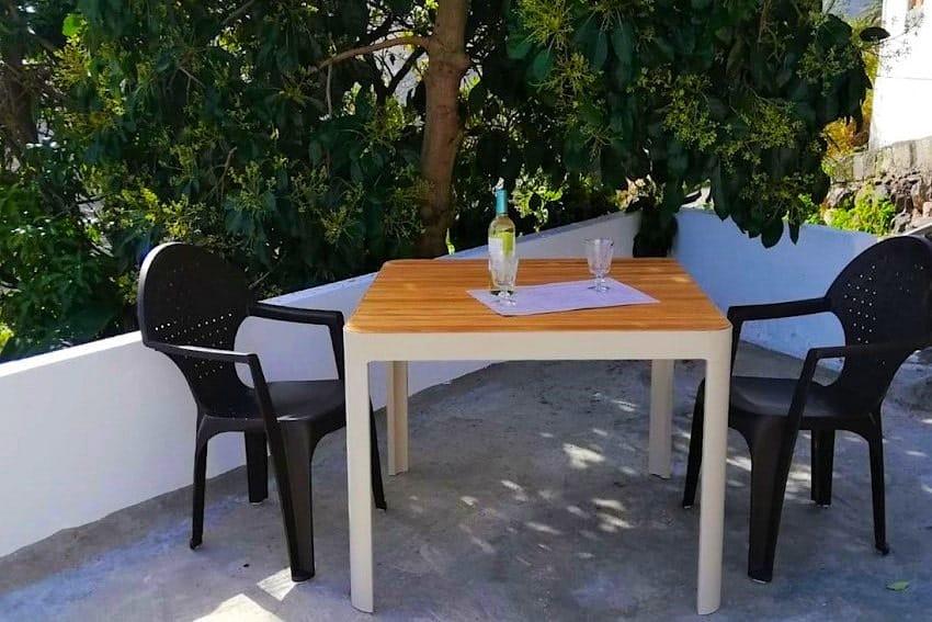 Terrace, Casa Lita, Holiday Cottage La Gomera