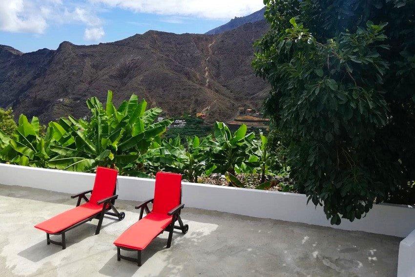 Terrace, Casa Lita, La Gomera