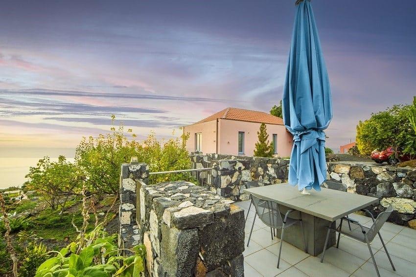 Terrace, Casa San Borondon, Holiday Home La Palma
