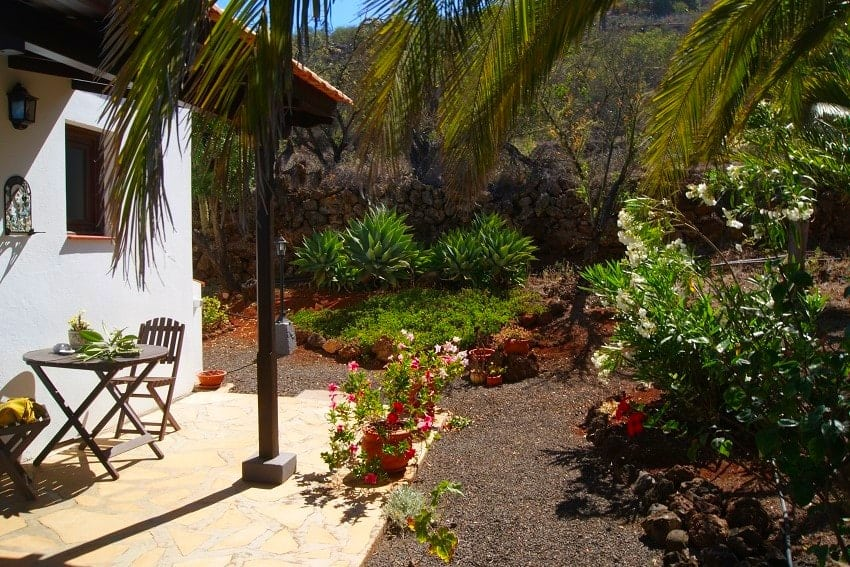 Terrace, Casita Nidi, Holiday Home on La Palma