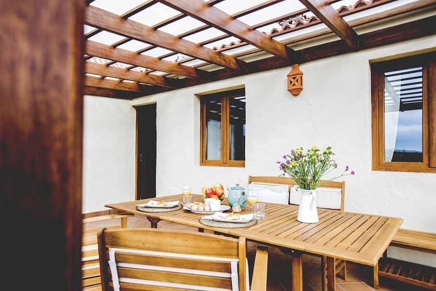 Terrace, Casita de Papel, Holiday Home La Gomera