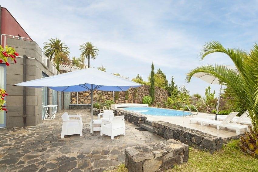 Terrace, Villa Alegranza, Villa Tijarafe with Pool