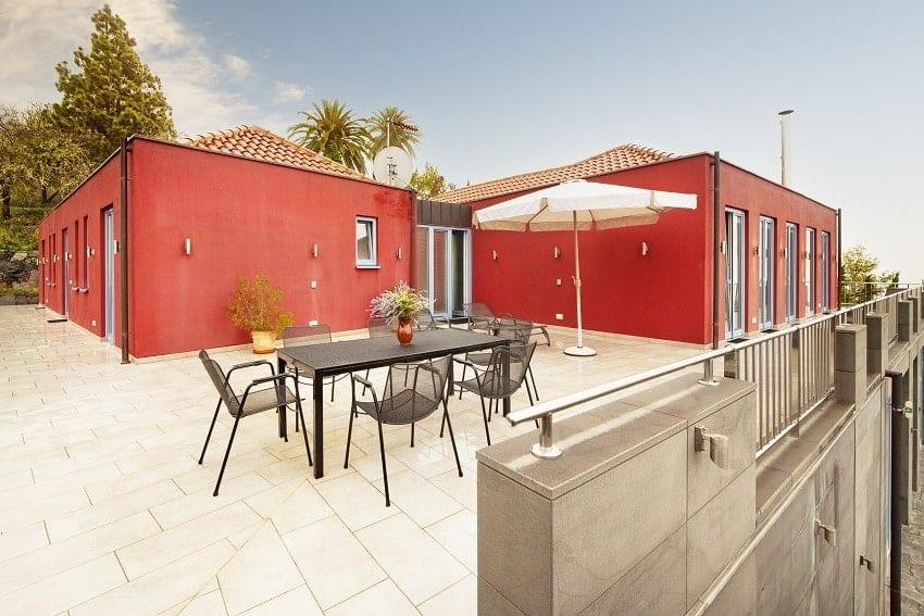 Terrace, Villa Alegranza, Villa Tijarafe