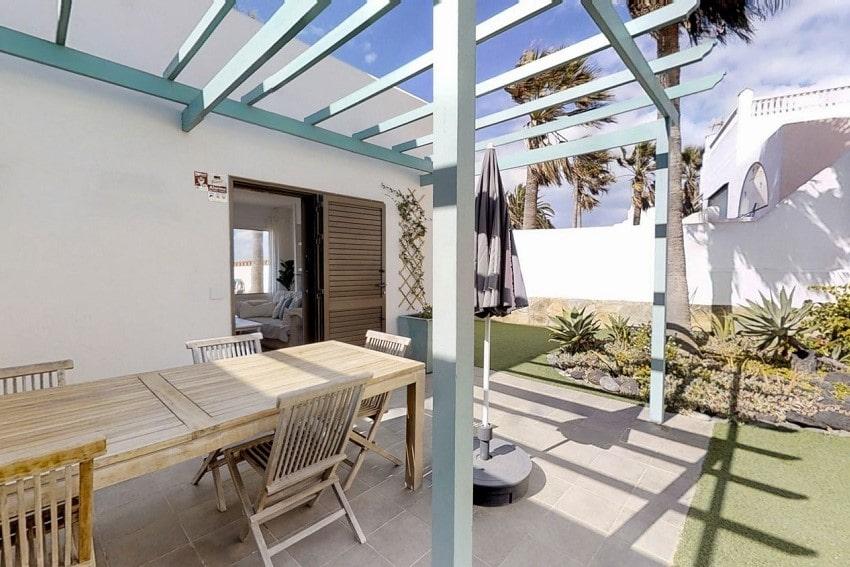 Terraza, Villa Florita, Villa de Lujo Corralejo, Fuerteventura