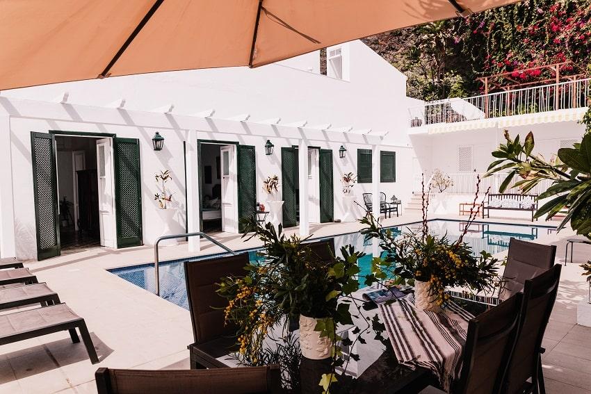 Terrace, Villa Imperial, La Palma Villa