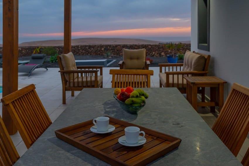 Terrasse, Villa Kira, Ferienhaus Fuerteventura