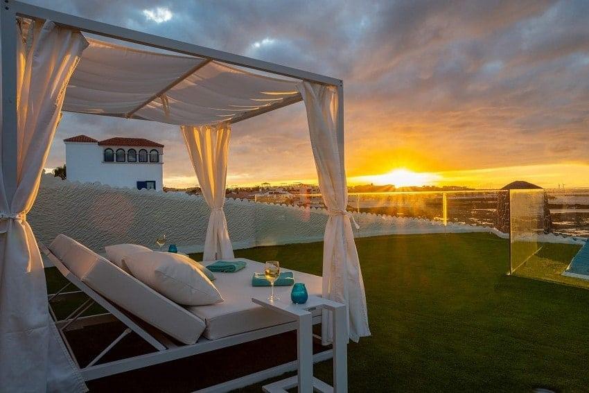 Terraza, Villa Lobos, Villa Fuerteventura