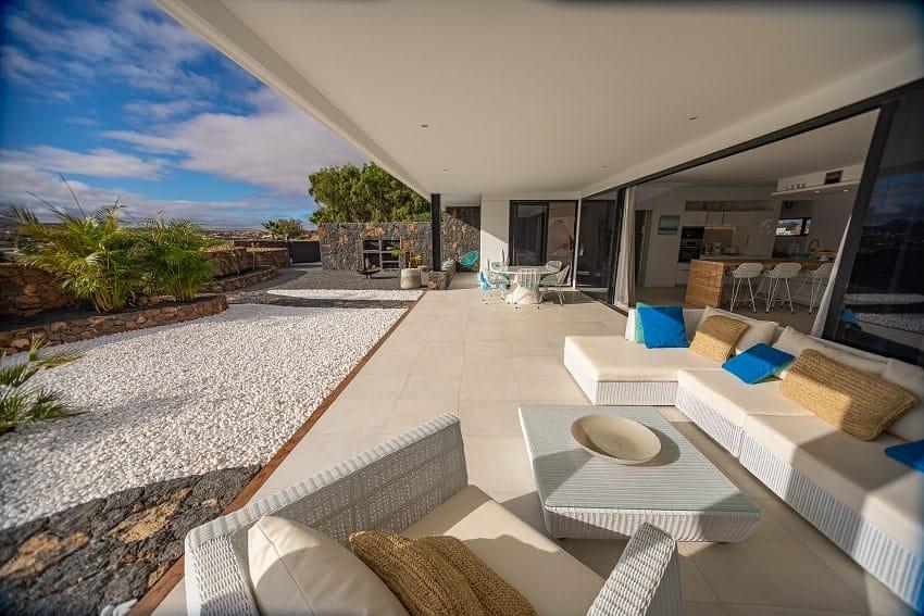 Terrace, Villa Odo, Fuerteventura