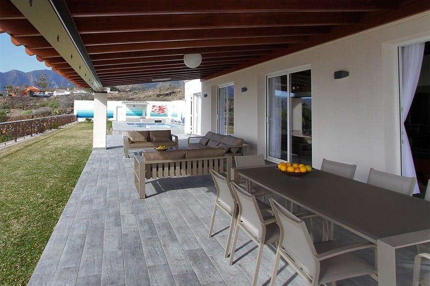 Terrace, Villa Royal, Villa La Palma