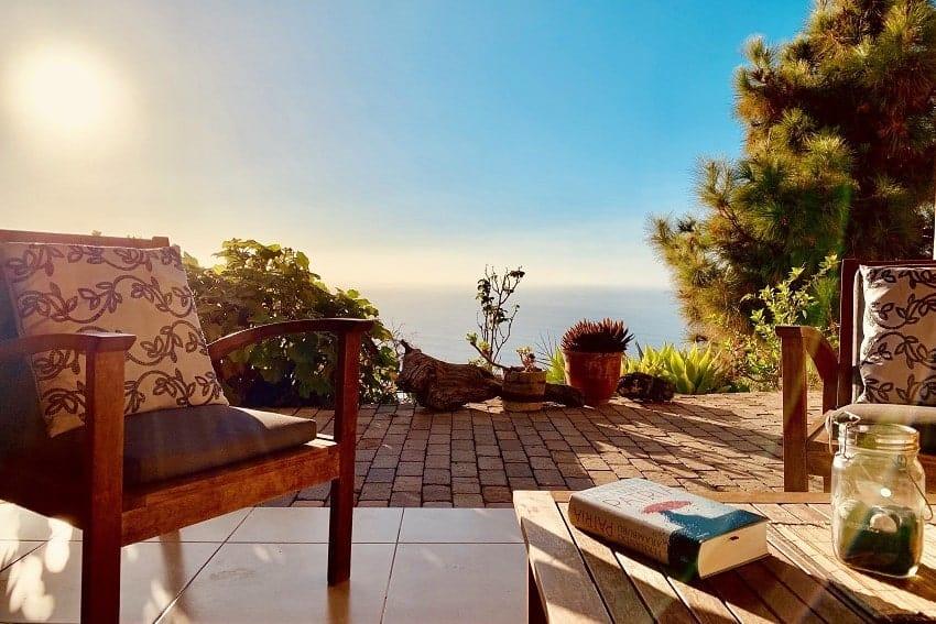 Terrace, Villa Tigotan, Tijarafe