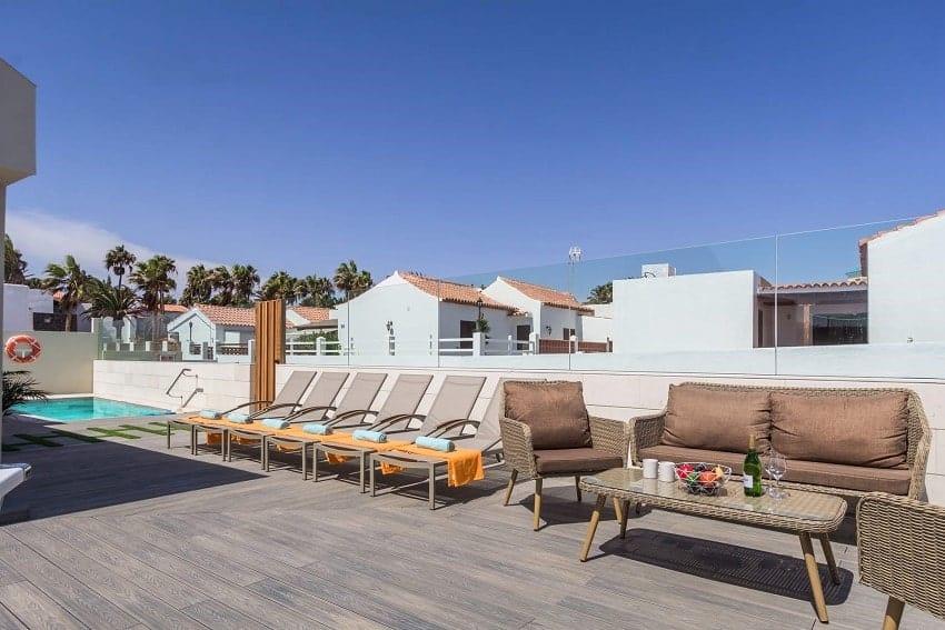 Terrace, Villa del Mar, Villa Caleta de Fuste
