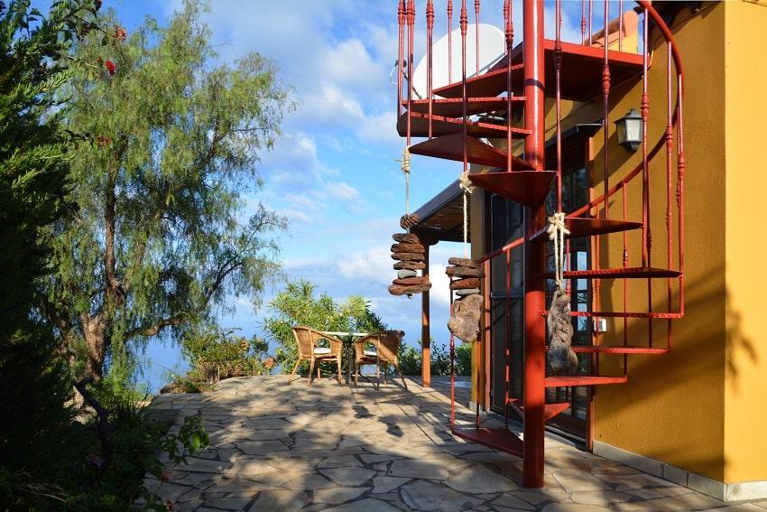Stairs, Casa Caracol, Holiday Cottage Tijarafe