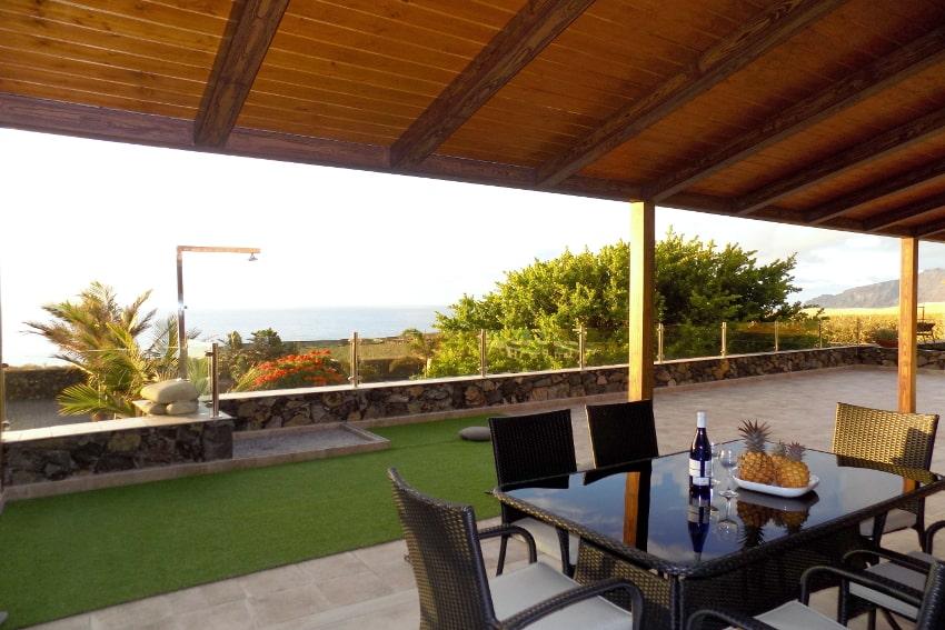 Spain - Canary Islands - El Hierro - Frontera - Villa Tejeguate - Evening mood