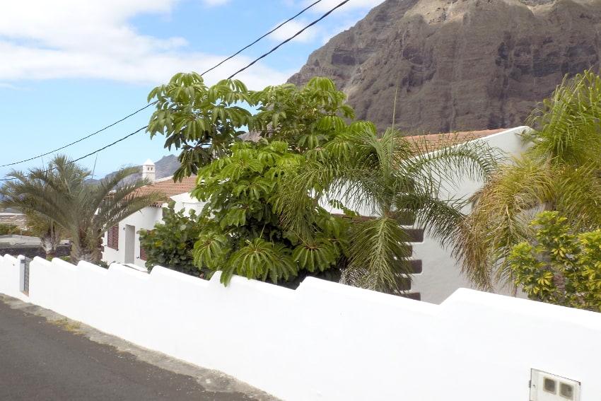 Spain - Canary Islands - El Hierro - Frontera - Villa Mocanes - View from the street