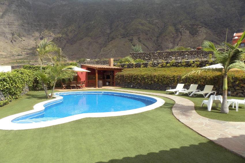 Spain - Canary Islands - El Hierro - Frontera - Villa Mocanes - View towards the Atlantic Ocean