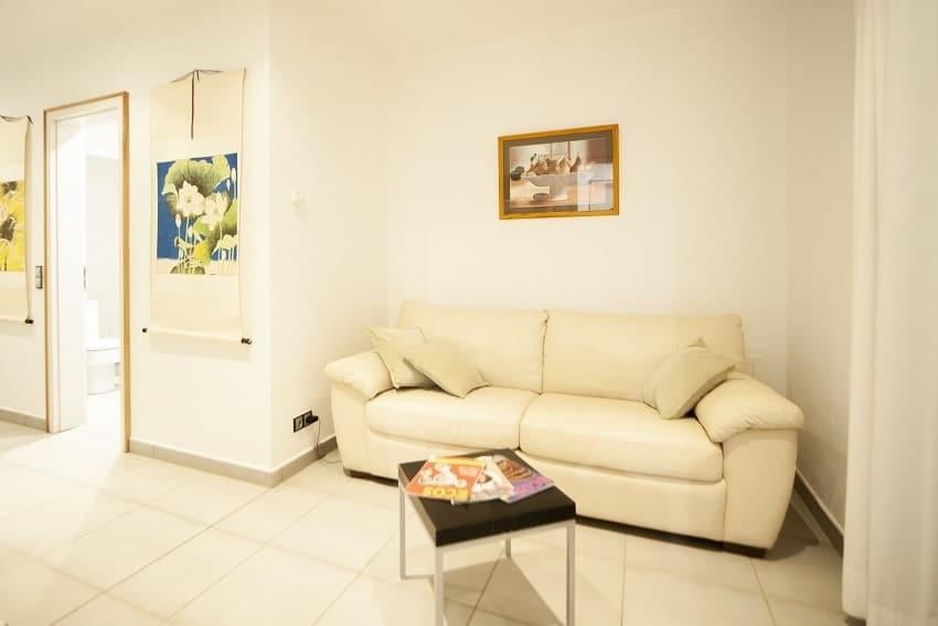 Sofa, Casa San Borondon, Luxury Holiday Home La Palma