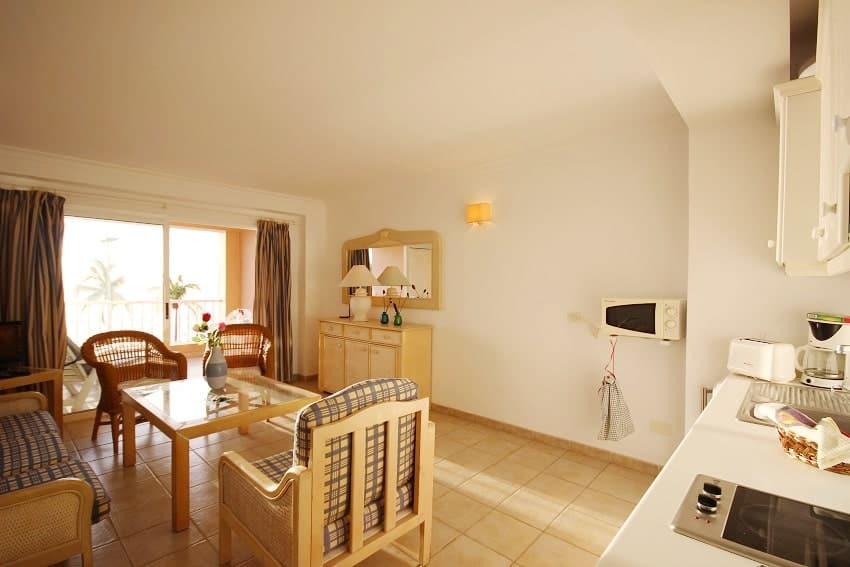 Wohnbereich, Apartment La Regata 2b, Apartment Puerto Naos, La Palma