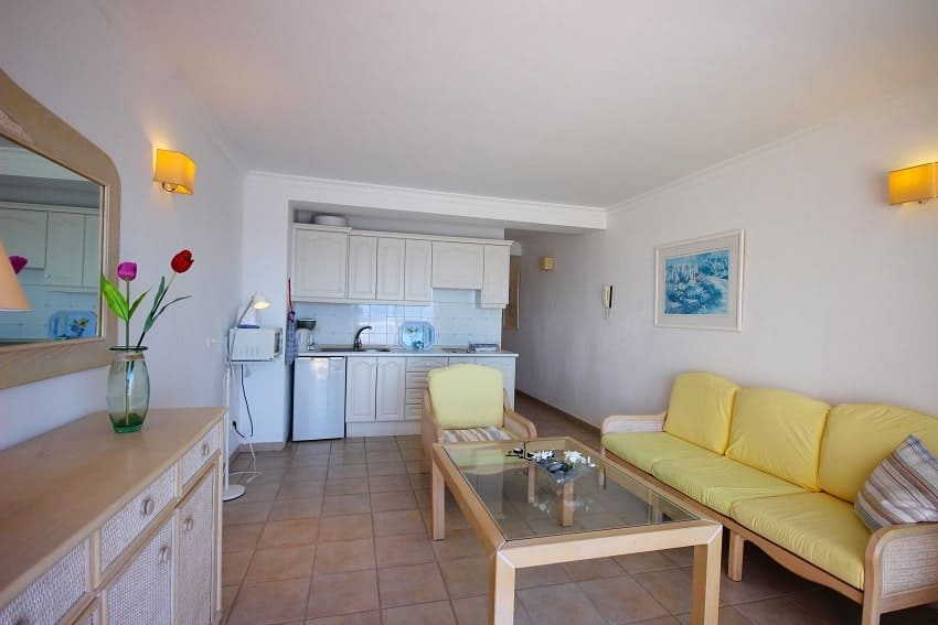 Wohnbereich, Apartment La Regata 3b, Apartment La Palma