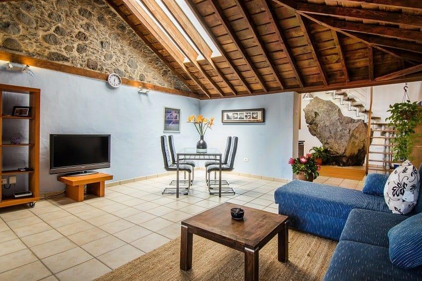 Living Room, Apartment Luna, Santa Cruz