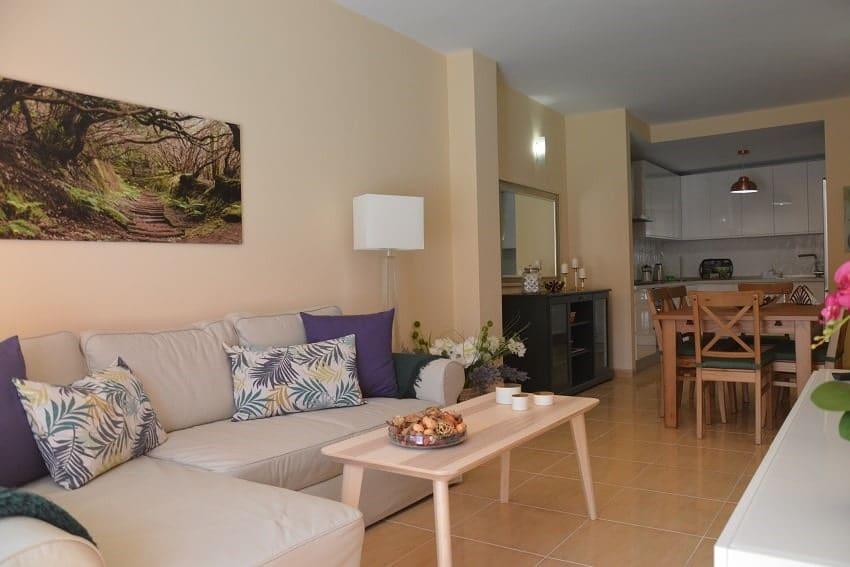Living Area, Apartment Miramar 2, Apartment La Gomera