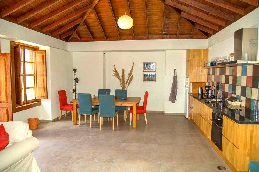 Living Area, Casa Albersequi, Holiday Home La Gomera