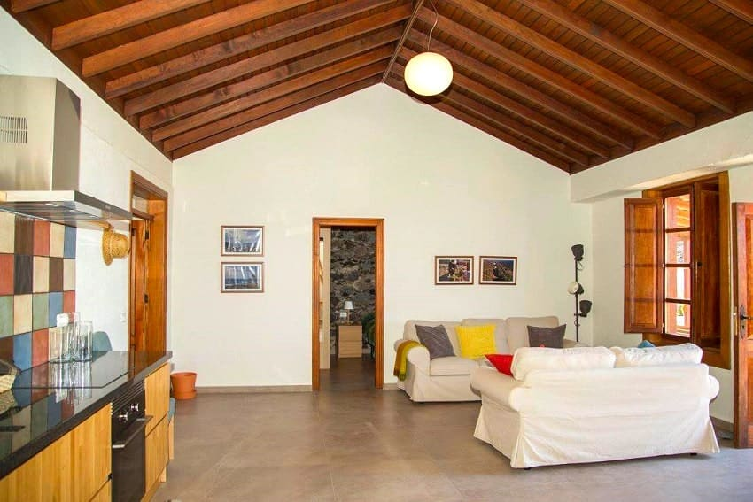 Living Area, Casa Albersequi, La Gomera, Holiday Home