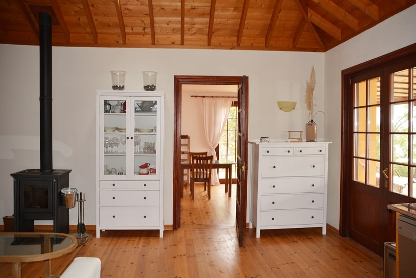 Living Area, Casa Caracol, Holiday Cottage Tijarafe