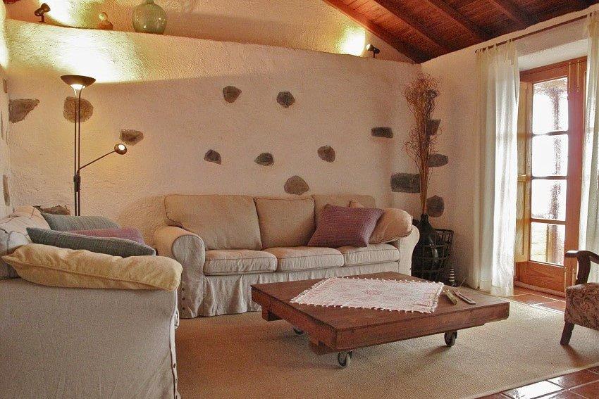 Living Area, Casa El Tabaibal, Accommodation La Gomera