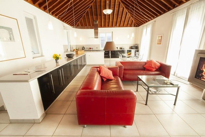 Living Area, Casa San Borondon, La Palma