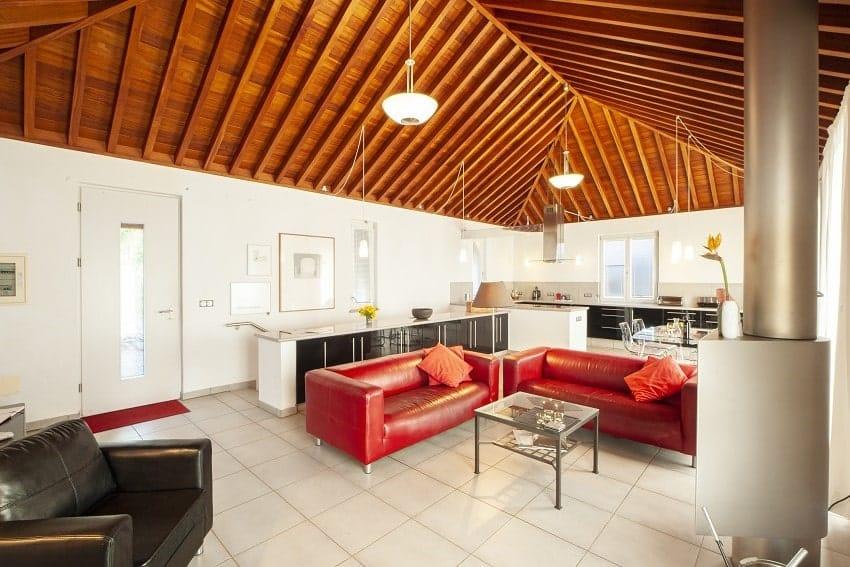 Living Area, Casa San Borondon, Luxury Holiday Home La Palma