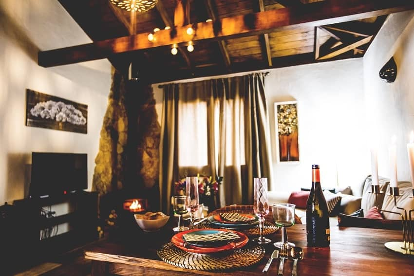 Living Area, Casita de Papel, Holiday Home La Gomera