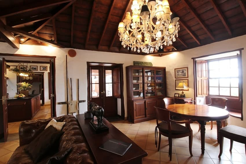 Living Area, Finca Esperanza, Finca La Palma